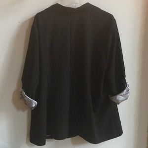 torrid Jackets & Coats - TORRID Ruched Roll Sleeve Blazer NWT Size 4X/26-28